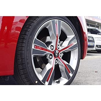 Amazon Com Autocar21 Carbon Tuning 18 Quot 4 Wheel Decal
