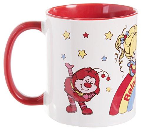 Rainbow Brite And Sprites Red Handle Mug