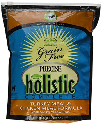 Precise Holistic Complete Feline Turkey and Chicken Pet Food, 3 lb by Precise