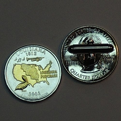 Unique 2-Toned Gold on Silver Iceland Cod fish Coin Cufflinks