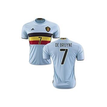 new product 31086 370db 2016-2017 Belgium Away Football Soccer T-Shirt (Kevin De ...