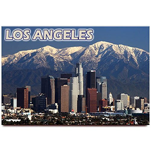 (Fridge magnet travel souvenir (Los Angeles California))