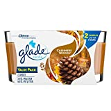 Glade Jar Candle Air Freshener, Cashmere Woods, 2 count, 6.8 Ounce