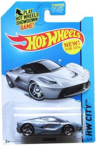 Hot Wheels 2014 Laferrari Silver