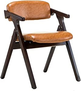 Dining Chair丨Office Computer Armchair丨Desk Chair丨Foldable Dining Chair,53.5X57X74CM (Color : B)
