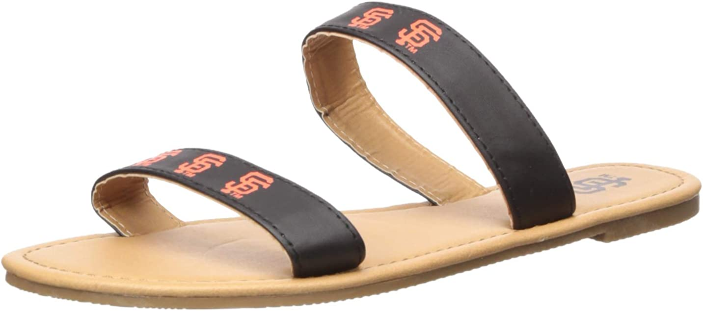 FOCO MLB Unisex Double Strap FLIP Flop : Sports & Outdoors