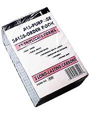 Qshop Sales Order Book 33 Triplicate Forms Carbonless 3 Copy's - Wholesale Lot of 10