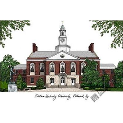 Art Poster Print - Eastern Kentucky University - Artist: Landmark Publishing - Poster Size: 14 X 10 inches