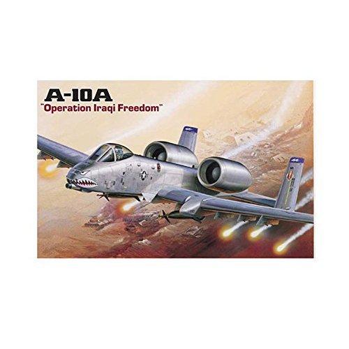 Academy 1/172 A-10A Warthog-Iraq Freedom ACY12402- Plastick Model Airplane Kit (Hog Academy)