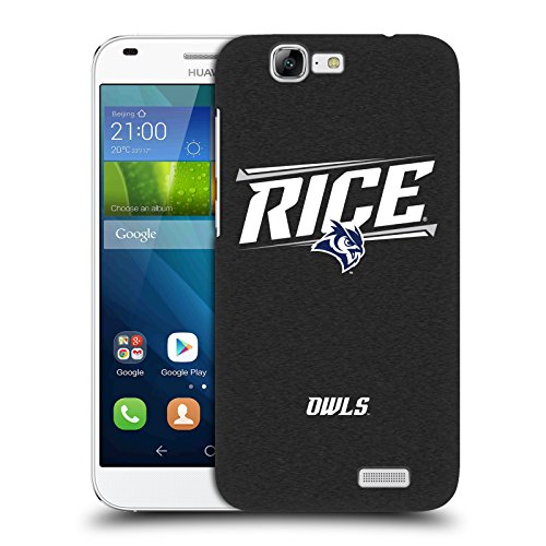 Official Rice University Double Bar Hard Back Case for Huawei Ascend G7