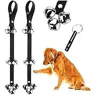 BLUETREE Dog Doorbells Premium Quality Training Potty Great Dog Bells Adjustable Door Bell Dog Bells for Potty Training Your Puppy The Easy Way - Premium Quality - 7 Extra Large Loud 1.4 DoorBells