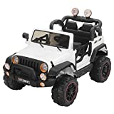 electric car children - Murtisol Kids Power Wheels 12V Electric Ride on Cars with Remote Control 2 Speed White