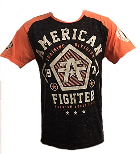 Chuck Fighter Cage (American Fighter Mens Delaware T Shirt)
