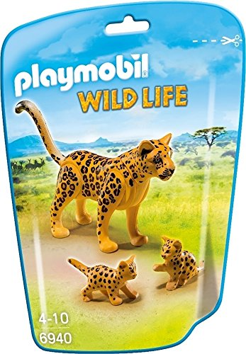 Playmobil Leopard with Cubs