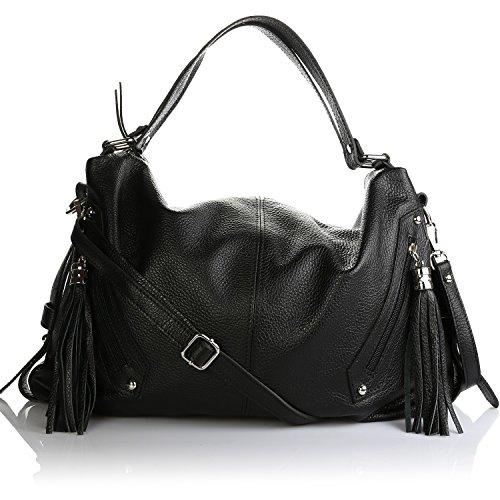 Olivia, sac à main femme noire