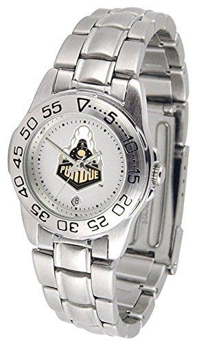 Purdue Boilermakers Womens Watch (Purdue Boilermakers Sport Steel Women's Watch)