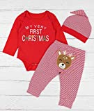 AGAPENG Christmas Outfits Baby Girls Boys My First