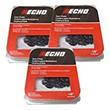 Set Of 3 Echo OEM Chainsaw Chain 3/8 62DL 18' 91PX62CQ