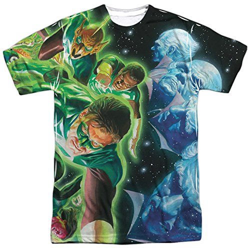 Guardians -- Green Lantern All-Over Front Print Sports Fabric T-Shirt