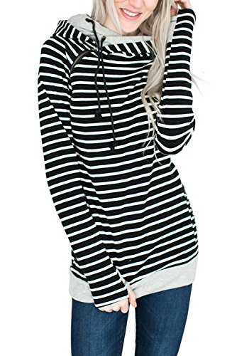 Zipper Long Sleeve Sweatshirts - 1