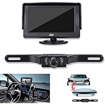 51unjyvHF L._SL500_AC_SS350_ amazon com pyle backup rear view car camera screen monitor system peak backup camera wiring diagram at gsmx.co