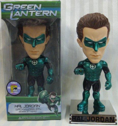 Funko Hal Jordan Green Lantern Metallic Movie Wacky Wobbler Bobblehead