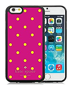 Popular And Unique Designed Kate Spade iPhone 6 Black Phone Case 4.7 inch Case 037