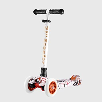 Amazon.com: Scooter Graffiti - Patinete infantil con cuatro ...