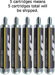JT 90g CO2 Cartidges (88g Crosman AirSource cylinders compatible)
