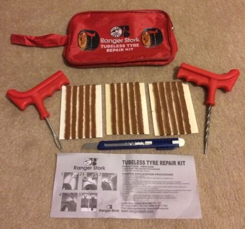 CAR VAN TYRE TIRE PUNCTURE REPAIR KIT WITH 15 STRIPS BESTSELLER