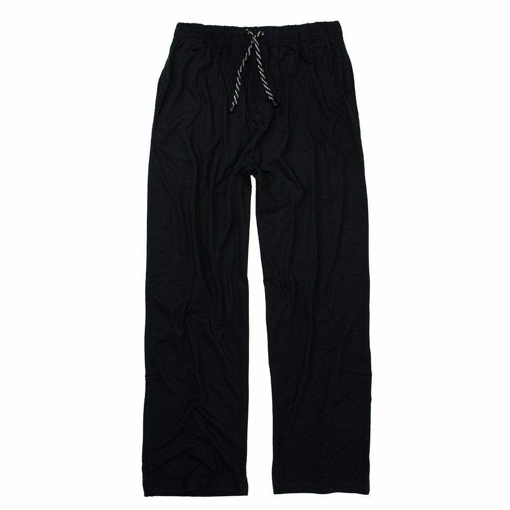 ADAMO Pyjamahose Hausanzughose Übergröße dunkelblau