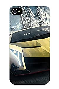 Catenaryoi Tpu Case For Iphone 4/4s With Need For Speed Rivals, Nice Case For Thanksgiving Day's Gift