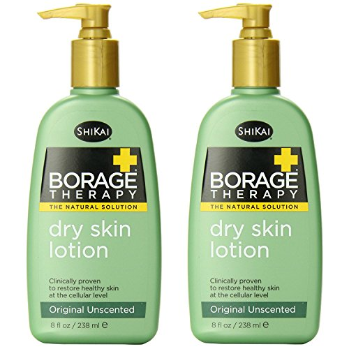 ShiKai Lotion, Dry Skin Therapy, Borage, 8-Ounces (Pack of 2) ()