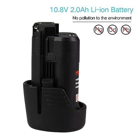 FR 10,8volt Batterie pour BOSCH FL10,GLI 10,8 V-LI,GMF 10.8 V-LI Cordless outil