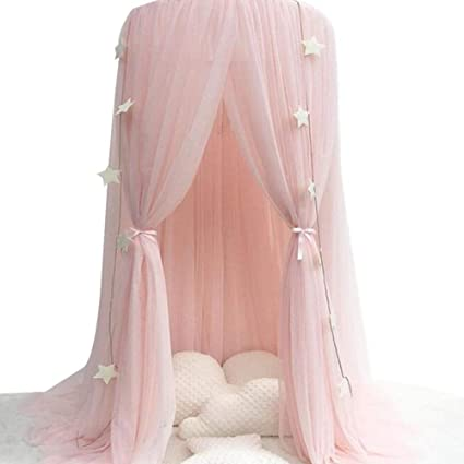 Mother & Kids Sensible Baby Bed Mosquito Net Kids Bedding Round Dome Hanging Bed Canopy Curtain Chlildren Baby Room Decoration Crib Netting Tent A Wide Selection Of Colours And Designs Crib Netting