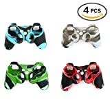 UUShop 4 Pcs of Silicon Protective Skin Case Cover for Sony Playstation 3 PS3 Remote Controller Review