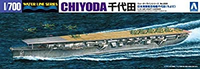 1/700 Water Line Series Japanese Navy aircraft carrier Chiyoda plastic model 229