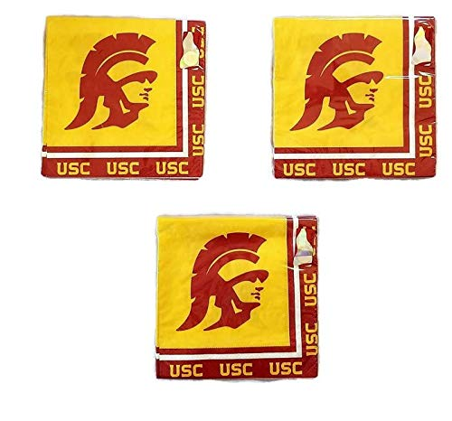 Usc Party Supplies (University of Southern California USC Trojans Party Bundle Lunch Napkins)