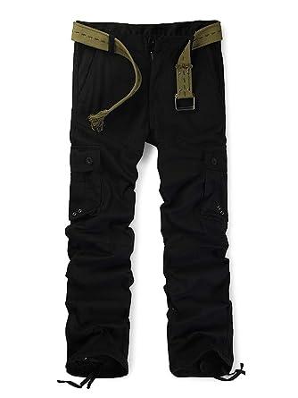 9ee8a57e323703 OCHENTA Herren Kampfhose Erwachsene Militärische Hosen Multi Taschen  Baumwolle (ohne Gurt): Amazon.de: Bekleidung