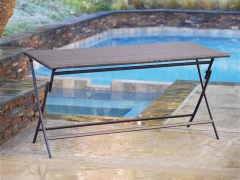 RST Outdoor OP PEFT2759 Perfect Folding Table Patio