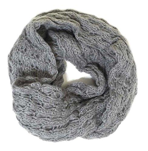 popcorn knit scarf - 6