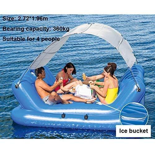 Swim Party Toys Balsa Inflable Verano 4 Playa Grande Paraíso ...