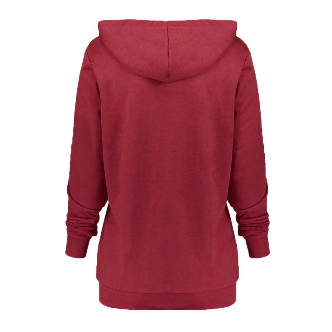 Womens Hoodie Sweatshirt Halloween Theme Long Sleeve Pullover Hooded