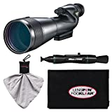 Nikon 20-60x82mm Prostaff 5 Straight Body Fieldscope Spotting Scope with Eyepiece with LensPen + Cleaning Cloth