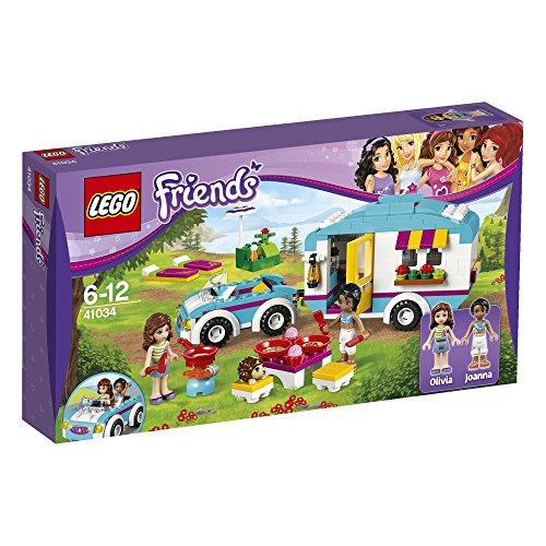 Friends Caravan Building Minifigures 41034
