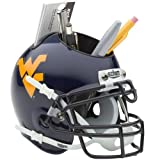 NCAA West Virginia Mountaineers Mini Helmet Desk Caddy by Schutt