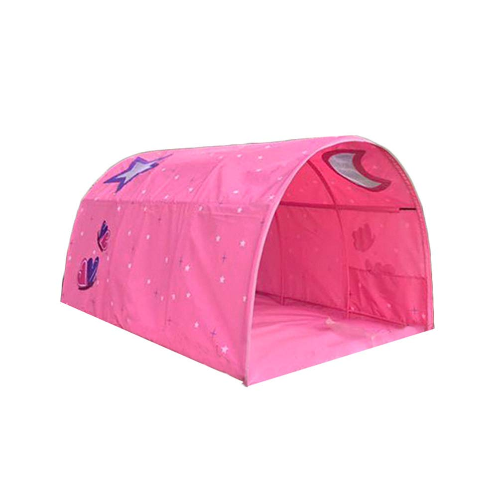 SYLOTS Tents Bed, Kids Tents Indoor Kids Play Bed Tent Tunnel Tent for Kids Tent Privacy Space Boys Girls Toys Indoor Outdoor (14010080 cm)