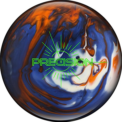 Track Bowling Products Track Precision Bowling Ball Blue/Orange/White, 15lbs