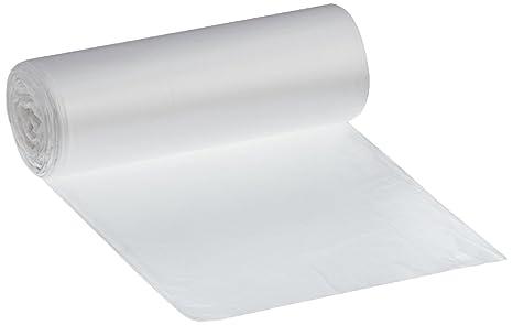 deiss universal Plus 49907 bolsas de basura con serigrafiado con precinto, 500 mm x 600 mm, rollo de 50 Pro, 30 L, transparente