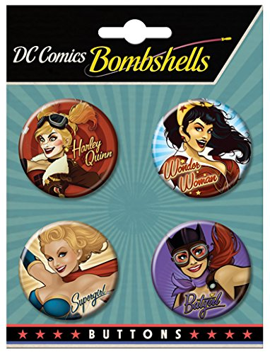 Ata Boy Bombshells Assortment Collectible Buttons